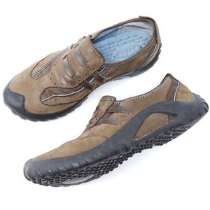 Clarks Privo Slip On Comfort Shoe Suede Walking